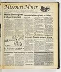 The Missouri Miner, November 16, 1988