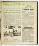 The Missouri Miner, March 15, 1989
