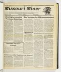 The Missouri Miner, August 23, 1989