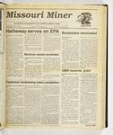 The Missouri Miner, September 13, 1989