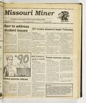 The Missouri Miner, September 20, 1989