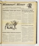 The Missouri Miner, September 27, 1989