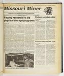 The Missouri Miner, November 01, 1989