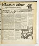 The Missouri Miner, November 15, 1989