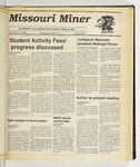 The Missouri Miner, November 29, 1989