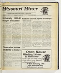 The Missouri Miner, January 17, 1990
