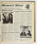 The Missouri Miner, January 24, 1990