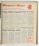 The Missouri Miner, February 14, 1990