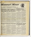 The Missouri Miner, February 21, 1990