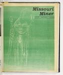 The Missouri Miner, March 14, 1990