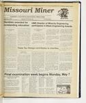 The Missouri Miner, April 25, 1990