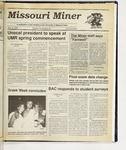 The Missouri Miner, May 02, 1990