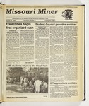 The Missouri Miner, August 29, 1990