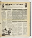 The Missouri Miner, September 12, 1990