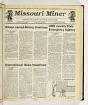 The Missouri Miner, September 19, 1990