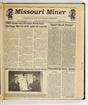 The Missouri Miner, January 30, 1991