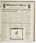The Missouri Miner, February 20, 1991