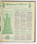 The Missouri Miner, March 13, 1991