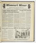 The Missouri Miner, March 20, 1991