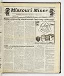 The Missouri Miner, April 17, 1991