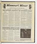 The Missouri Miner, April 24, 1991