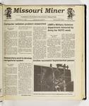 The Missouri Miner, September 11, 1991