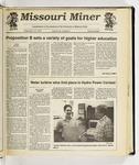The Missouri Miner, September 18, 1991