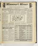 The Missouri Miner, September 25, 1991