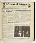 The Missouri Miner, October 16, 1991