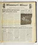 The Missouri Miner, November 13, 1991