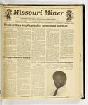 The Missouri Miner, November 20, 1991