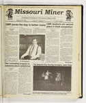 The Missouri Miner, January 29, 1992