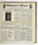 The Missouri Miner, February 19, 1992