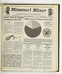 The Missouri Miner, February 26, 1992