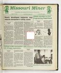 The Missouri Miner, March 04, 1992