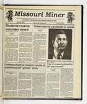 The Missouri Miner, April 22, 1992