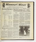 The Missouri Miner, April 29, 1992