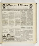 The Missouri Miner, September 16, 1992
