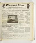 The Missouri Miner, September 30, 1992