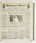 The Missouri Miner, October 07, 1992