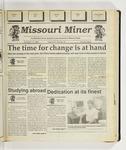 The Missouri Miner, November 11, 1992