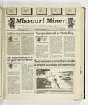 The Missouri Miner, December 02, 1992