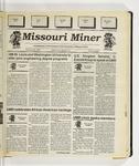The Missouri Miner, January 20, 1993