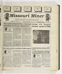 The Missouri Miner, January 27, 1993