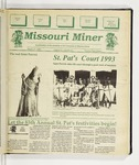 The Missouri Miner, March 10, 1993