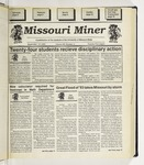 The Missouri Miner, September 15, 1993