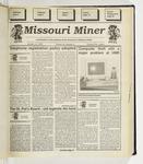 The Missouri Miner, October 13, 1993