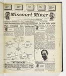 The Missouri Miner, October 20, 1993