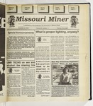 The Missouri Miner, November 09, 1993