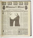 The Missouri Miner, February 16, 1994